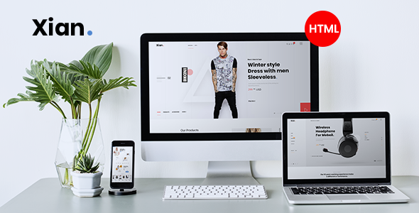 Download Xian – Multipurpose e-Commerce HTML Template Nulled