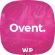 Ovent - Event Conference WordPress - ThemeForest Item for Sale