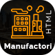 Manufactori: Factory and Industrial Business HTML5 Template - ThemeForest Item for Sale