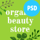 Organic Beauty | Beauty Store & Natural Cosmetics PSD Template - ThemeForest Item for Sale