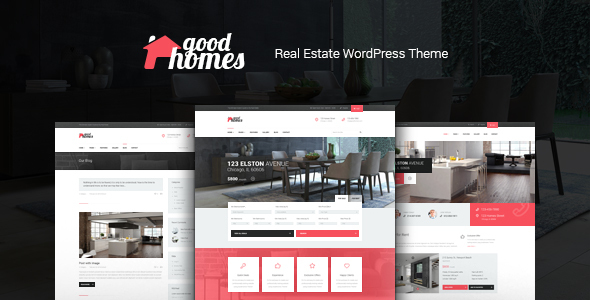 Good Homes | A Contemporary Real Estate WordPress Theme