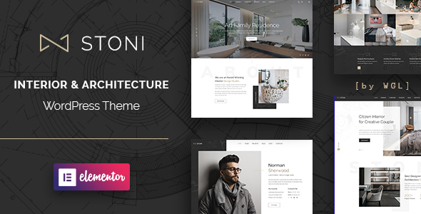 Stoni - Architecture Agency WordPress Theme