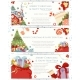 Christmas and Happy New Year Hand Drawn Flyers Set - GraphicRiver Item for Sale