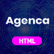 Agenca - One Page Parallax - ThemeForest Item for Sale