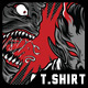 Monster Academy T-Shirt Design - GraphicRiver Item for Sale