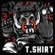 Boar Power T-Shirt Design - GraphicRiver Item for Sale