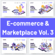 5 E-Commerce & Marketplace Illustration Vol 3 - GraphicRiver Item for Sale