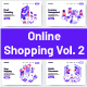 10 Online Shopping Isometric Vol 2 - GraphicRiver Item for Sale