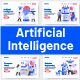 10 Artificial Intelligence Illustrations - GraphicRiver Item for Sale