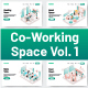 10 Co-Working Space Illustrations Vol 1 - GraphicRiver Item for Sale