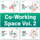 10 Co-Working Space Illustration Vol 2 - GraphicRiver Item for Sale
