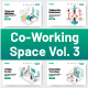 10 Co-Working Space Illustration Vol 3 - GraphicRiver Item for Sale