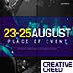 Music Event Promo / Party Invitation Slideshow / EDM Festival / Night Club / DJ Performance - VideoHive Item for Sale