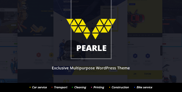 Pearle - Multipurpose Service & Shop WP Theme