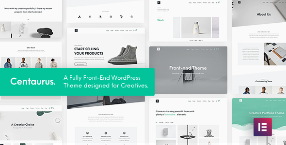 Centaurus - Creative Multi-Purpose WordPress Theme
