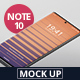 Smart Phone Mockup Note 10 - GraphicRiver Item for Sale