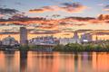 Albany, New York, USA skyline on the Hudson River - PhotoDune Item for Sale