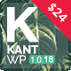Kant - A Multipurpose WordPress Theme for Startups, Creatives and Freelancers - ThemeForest Item for Sale