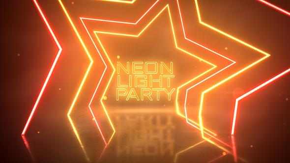 Neon Light Party Opener