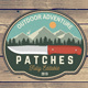 Outdoor Adventure Patches Part.2 - GraphicRiver Item for Sale