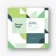 Square Modern Green Architecture Trifold - GraphicRiver Item for Sale