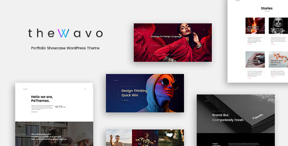 The Wavo - Portfolio Showcase WordPress Theme