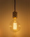 Retro Style Glowing  Electric Bulb - PhotoDune Item for Sale