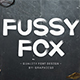 Fussy-Fox Font - GraphicRiver Item for Sale
