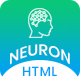 Neuron - Machine Learning & AI Startups HTML Template - ThemeForest Item for Sale