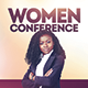Women's Conference - Speaker - Complete Set - GraphicRiver Item for Sale