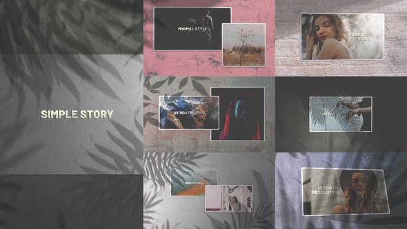 Simple Story/ Minimal Slides/ Clean Slideshow/ Travel Gallery Opener/ Perfumes Promo/ Cute/ Wedding