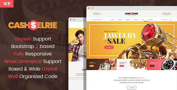 Cashelrie - Pawn Shop WordPress Theme