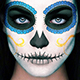 Catrina Skull Photoshop Action - GraphicRiver Item for Sale