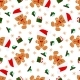 Vector Flat Christmas Seamless Pattern - GraphicRiver Item for Sale