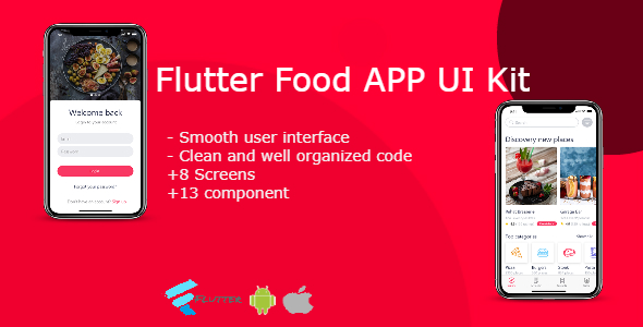 Food App: Flutter Food App UI