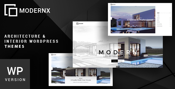 Modernx - Architecture & Interior WordPress Theme