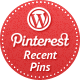 Recent Pins Widget for WordPress - CodeCanyon Item for Sale