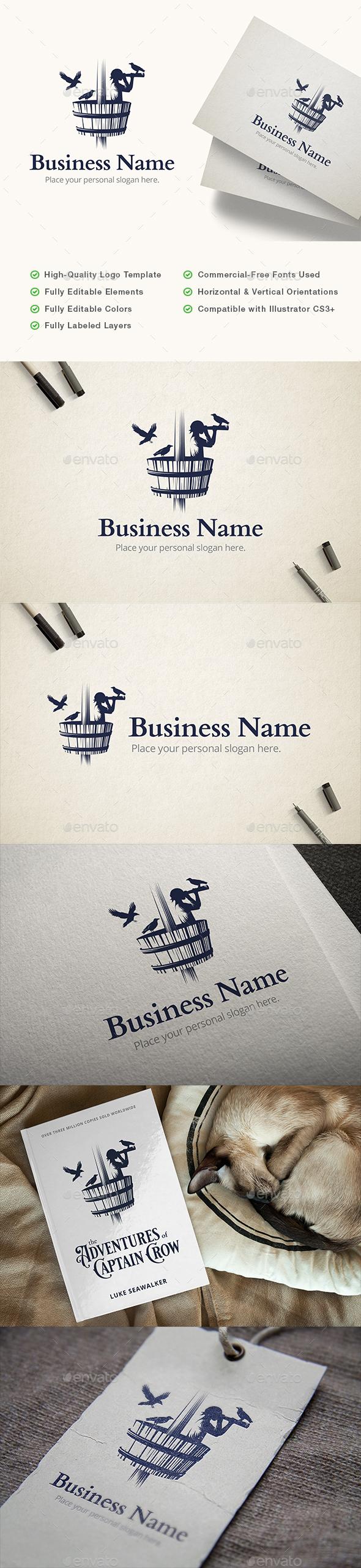 Crow's Nest Sailor Logo