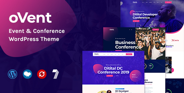Ovent - Event & Conference WordPress Theme