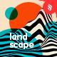 Striped Landscape Backgrounds - GraphicRiver Item for Sale