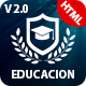 Education Course HTML - ThemeForest Item for Sale
