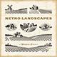 Retro Landscapes Set - GraphicRiver Item for Sale