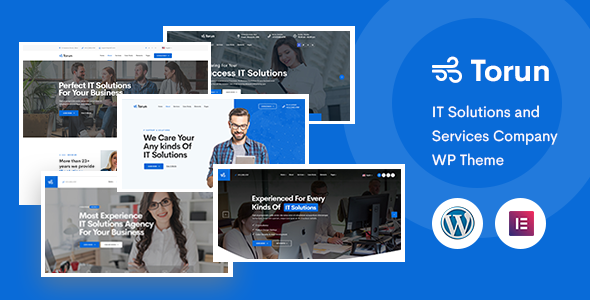 Torun | IT Services Company WordPress Theme