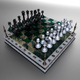 Landscape Chessboard - 3DOcean Item for Sale