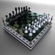 Landscape Chessboard - 3DOcean Item for Sale