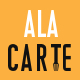 Alacarte - Restaurant & Cafe Sketch Template - ThemeForest Item for Sale