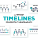 Timelines Animated Infographic Presentations - GraphicRiver Item for Sale