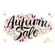 Vector Autumn Sale Lettering with Hand Drawn Elements - GraphicRiver Item for Sale
