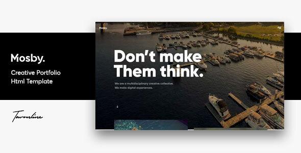 Mosby - Agency & Freelancer Portfolio Template