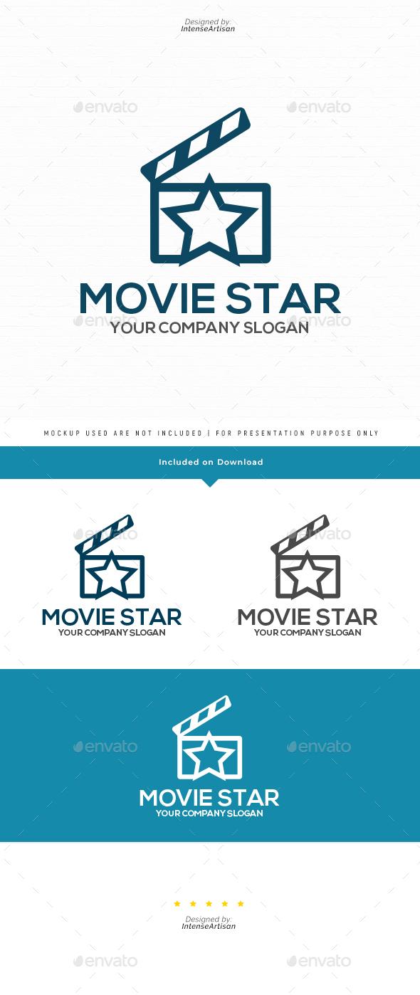 Movie Star Logo Template